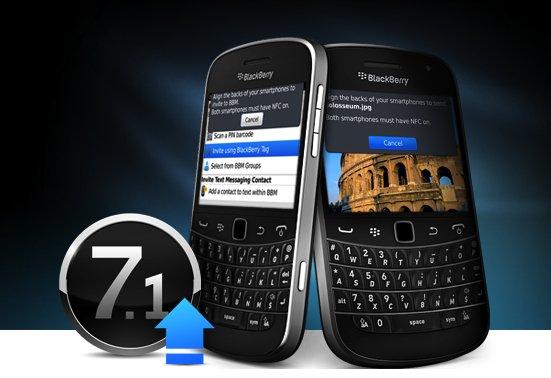 BlackBerry actualiza su sistema operativo