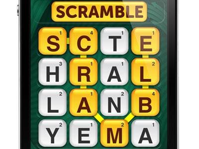 Scramble with Friends, nuevo juego de Zynga