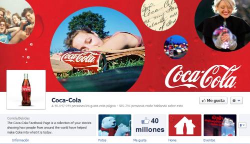 Facebook introduce Timeline para páginas de marcas