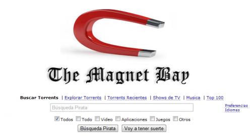 The Pirate Bay detiene la distribución de archivos torrent