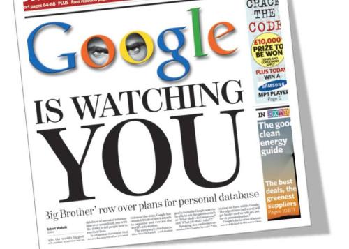 ¿Dejarías que Google te pague por espiarte?