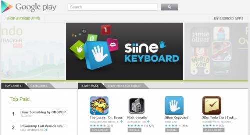 Android Market fue convertido en Google Play