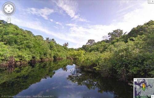 Google Street View finalmente permite navegar el Amazonas
