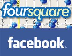 Los hombres prefieren Foursquare y las mujeres Facebook
