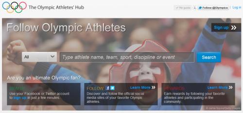 """""""Olympic Athletes' Hub"""", iniciativa del COI para seguir a atletas en redes sociales"""