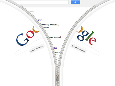Google dedica su doodle de hoy al creador de la cremallera