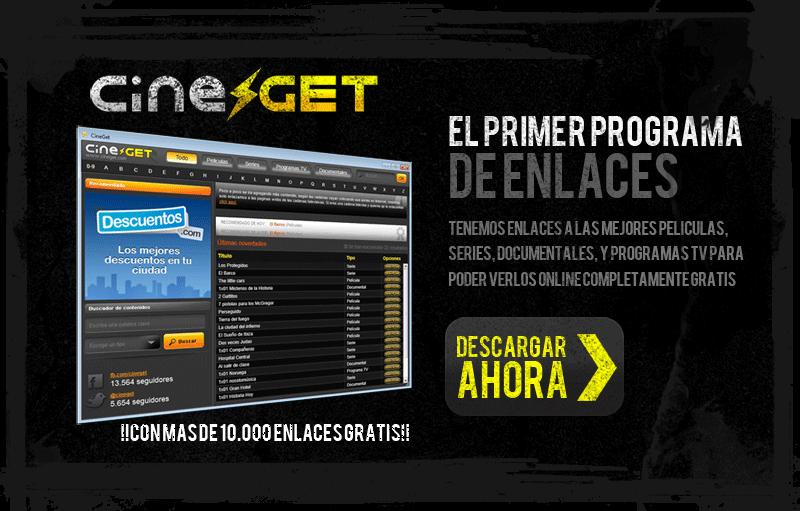 CineGet.com, un programa de escritorio de enlaces
