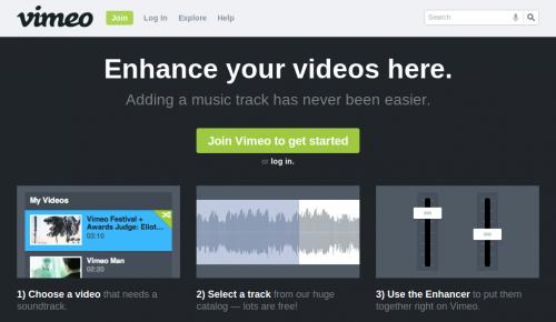 Vimeo lanza nueva herramienta para añadir música a videos
