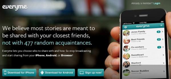 Everyme: crea tu propia red social privada