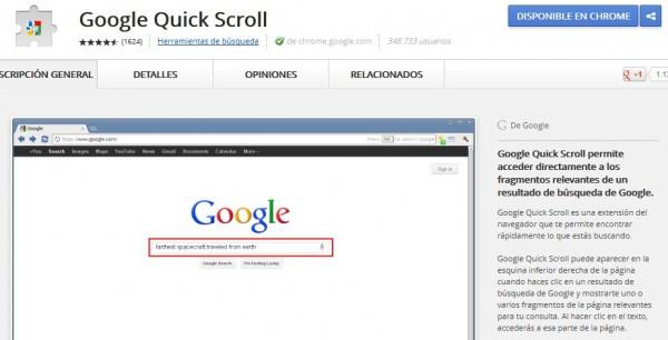Encuentra más rápido lo que buscas en una web