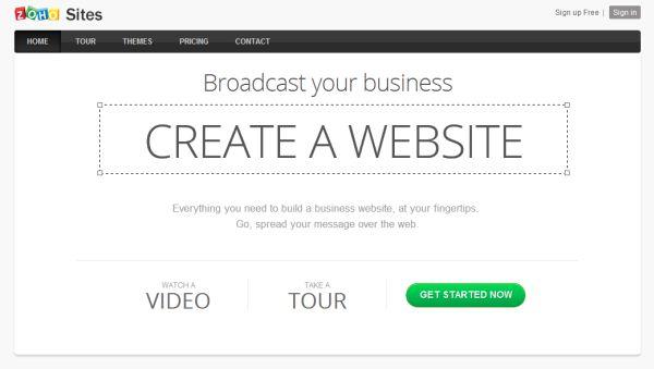 Crea sitios webs sin conocimientos de HTML