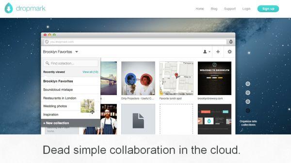 Dropmark una web para coleccionar