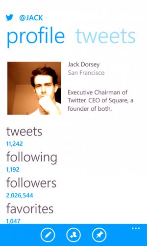 Twitter para Windows Phone añade notificaciones push
