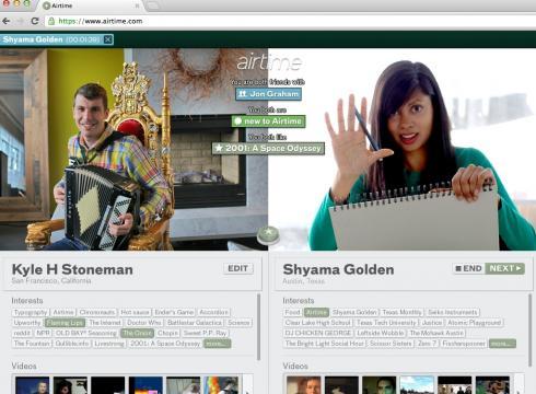 AirTime, nuevo videochat de los creadores de Napster
