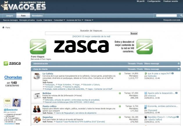 Vagos.es se traslada a Zasca.com