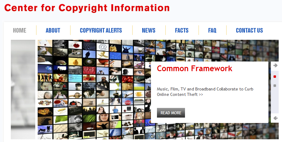 Center for copyright information for Copyright facts and information