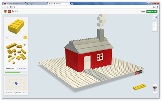Google Build, la experiencia LEGO en Chrome
