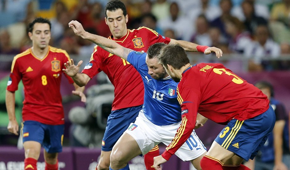 El España-Italia bate récords en Twitter