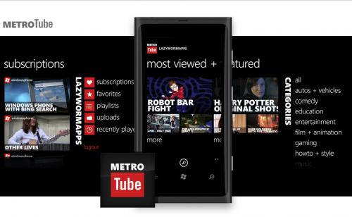 MetroTube para Windows Phone será relanzada