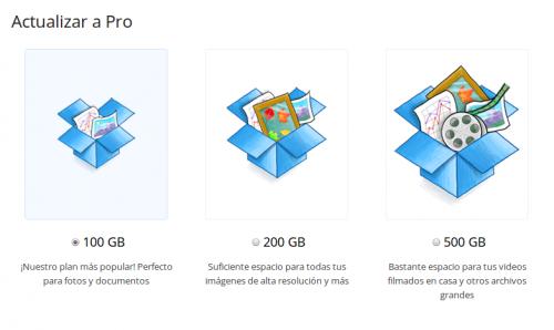 Dropbox duplica el espacio en cuentas Pro