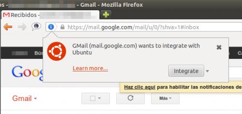 Ubuntu 12.10 permitirá la integración de aplicaciones web en el escritorio