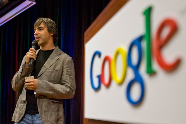 Larry Page se recupera, aunque no reaparece en público