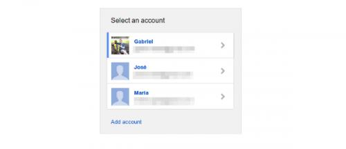 Gmail presenta nueva página de logueo multicuenta