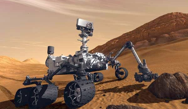 Descubre el paisaje de Marte en 3D