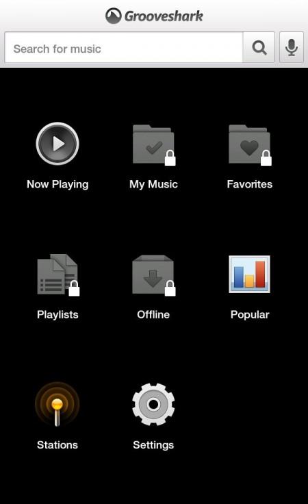 Grooveshark reaparece en Google Play Store