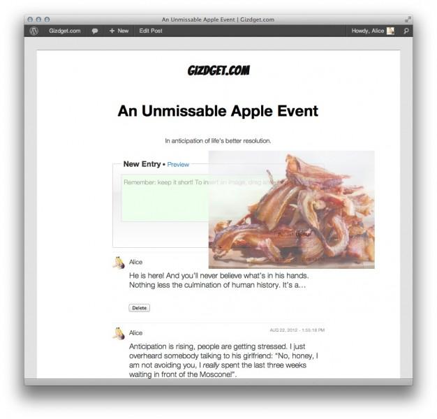 Liveblog, coberturas en vivo a través de WordPress