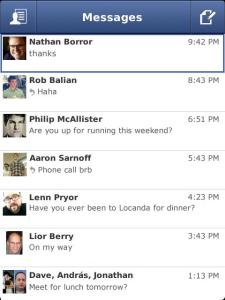 Facebook Messenger para BlackBerry debuta en App World