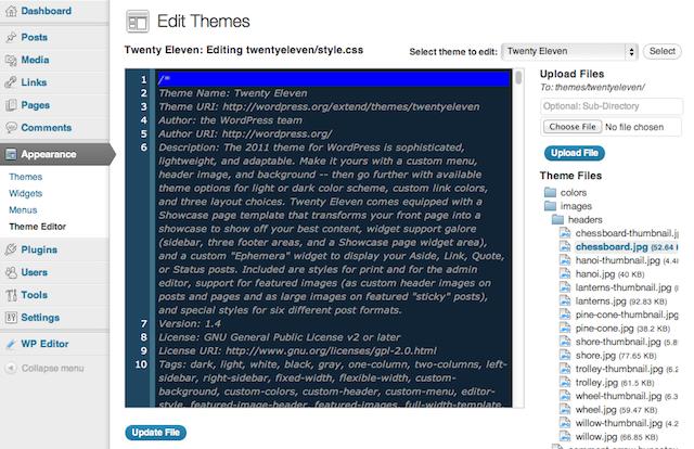 WP Editor, añade un editor de código en tu blog