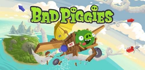 Rovio lanzó Bad Piggies, su nuevo juego
