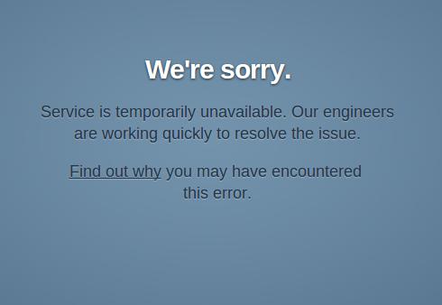 Tumblr, fuera de servicio por problemas técnicos