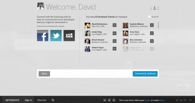 MySpace renuncia a la competencia con Facebook y Twitter