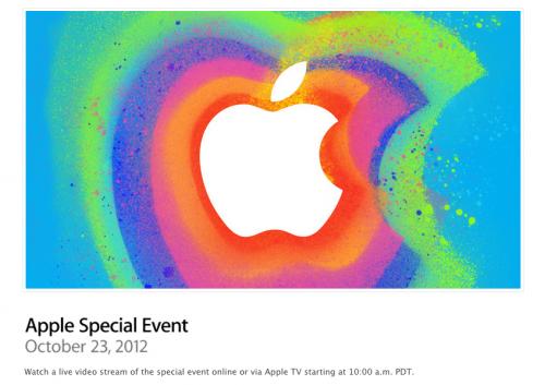 Apple transmitirá la presentación del iPad Mini vía streaming