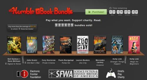 Humble eBook Bundle: Compra libros electrónicos y haz caridad