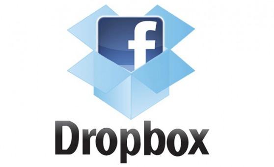 Dropbox se integra con Facebook