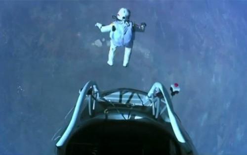 Felix Baumgartner también rompió récords en YouTube