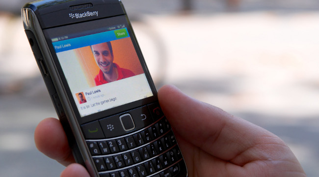 Tuenti Social Messenger se actualiza para Blackberry