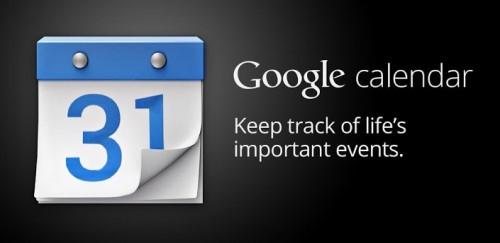 Google Calendar para Android debuta en Play Store