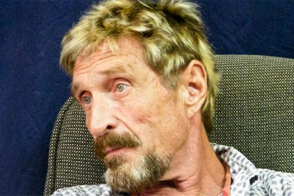 El fundador de McAfee se declara inocente