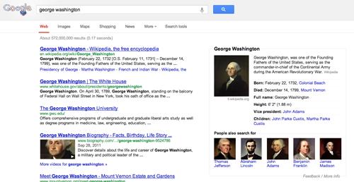 Google rediseña la página de resultados del buscador