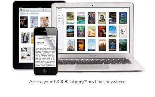 Las apps Nook para iOS y Android debutan en Reino Unido