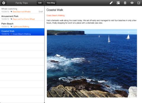 Google actualizó las apps de Blogger para iOS y Android