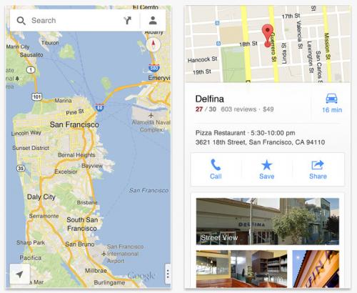 Google Maps para iPhone ya está disponible