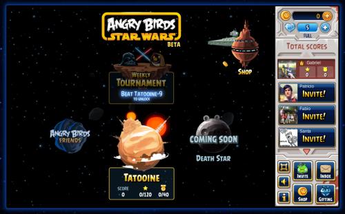 Rovio lanzó Angry Birds Star Wars para Facebook