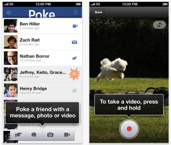Facebook Poke: Un éxito que se diluyó rápido