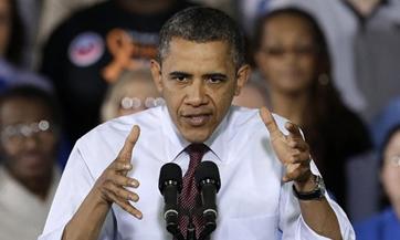 Obama, el tuitero más popular en 2012