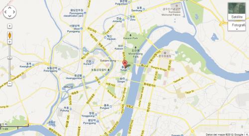 Google Maps mejoró sus imágenes de Corea del Norte